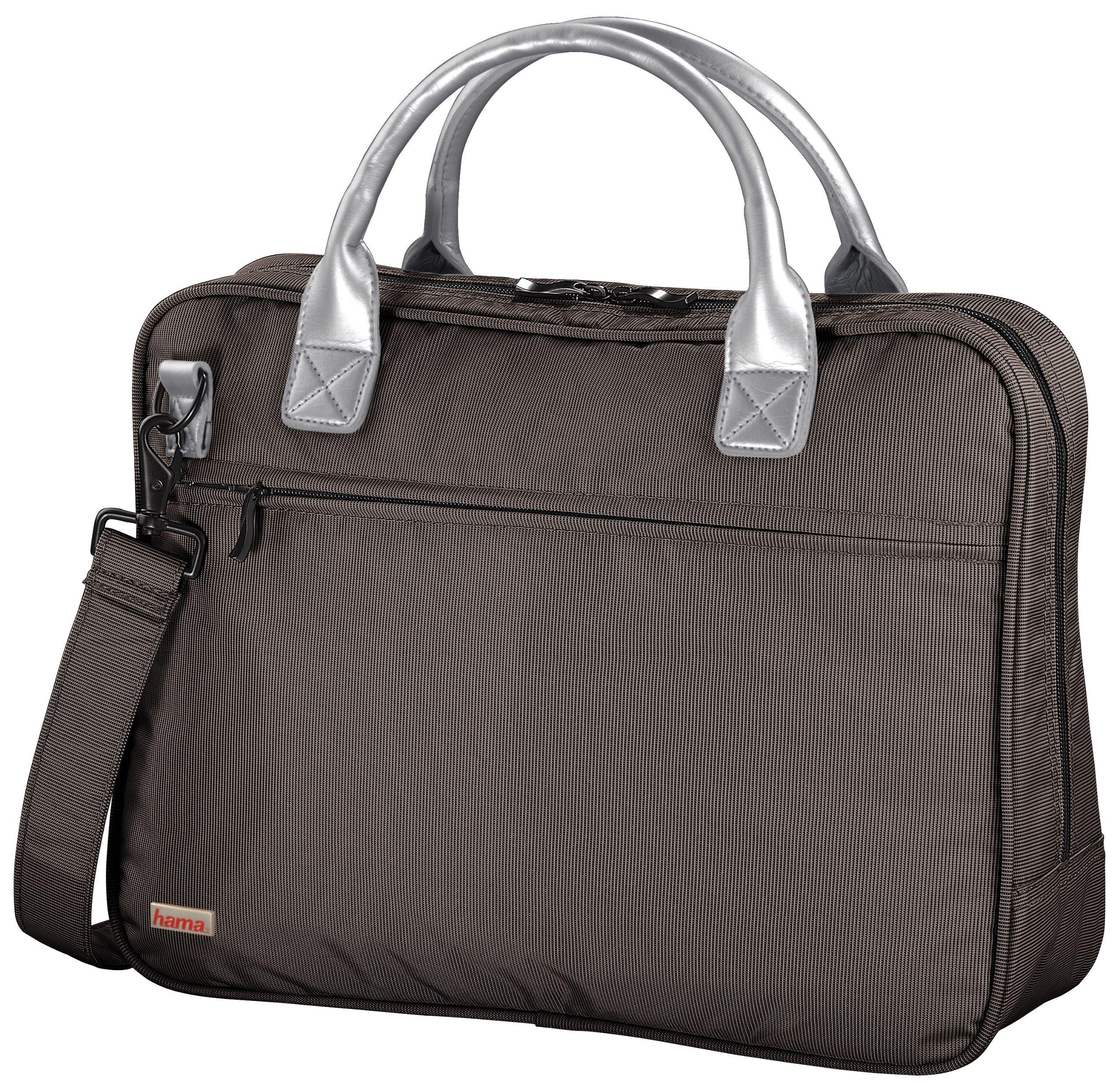 Hama Notebook Bag Fashion Uni, Brown maletines para portátil 39,1 cm (15.4