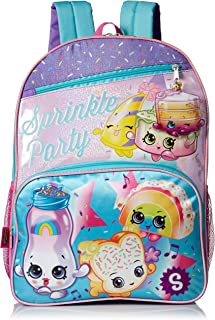 Girls Sprinkle Party Backpack, blue
