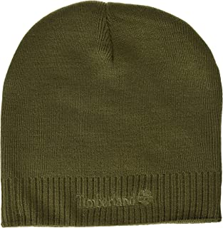 Men's Beanie with Logo Embroidery, Grape Leaf, One Size
