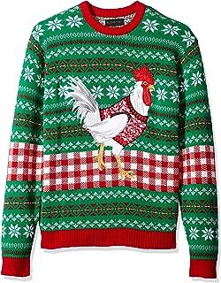 Men's Ugly Christmas Sweater Birds