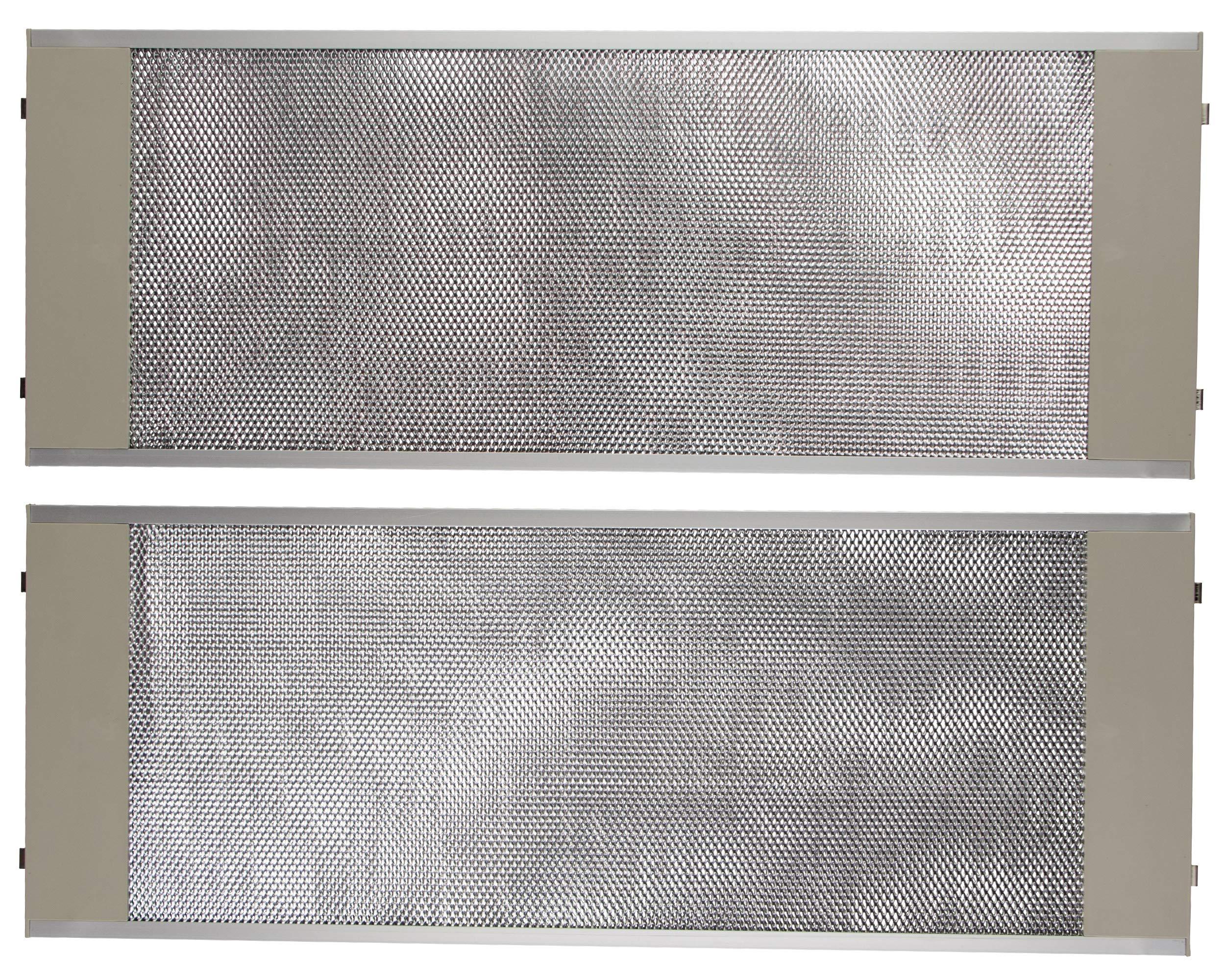 Remle - Filtro metalico campana extractora Teka 19x50cm CNL2000 - Kit 2 unidades: Amazon.es: Grandes electrodomésticos