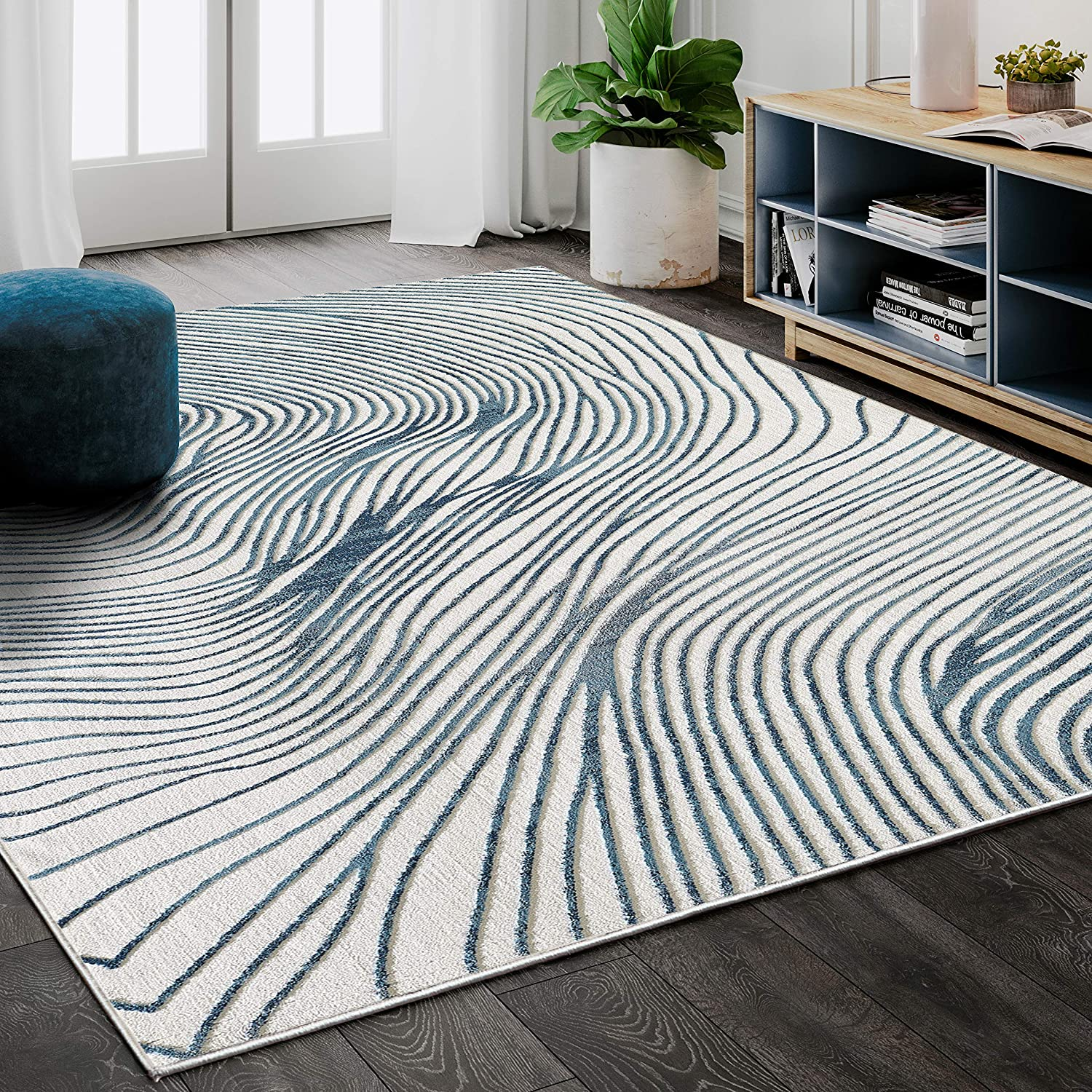 Sales OFFicial shop of SALE items from new works Abani Rugs Contemporary Wave Print 7' 9
