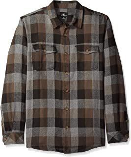 O'NEILL Men's Wilong Sleevehire Flannel Shirt
