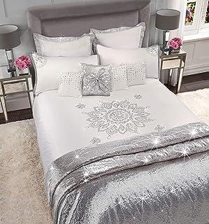 Sleepdown Caprice - Funda de edredón Reversible con diseño de Mandala, 100% poliéster, para Cama de Matrimonio