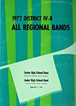 District IV-B All Regional Bands in Concert 1972 -- Vinyl LP Record