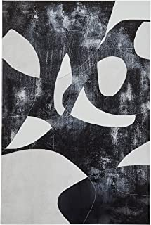 Black and White Abstract Canvas Print, 16