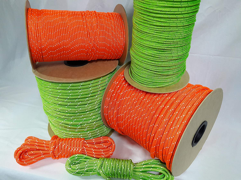 OuM 60m Polyesterseil Polyesterseil Polyesterseil reflektierend, leuchtende Farben (0,51€-1,32€ m) B07MQ5YZ3Y  Hohe Qualität und Wirtschaftlichkeit cd4b03