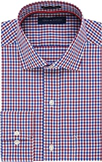 Men's Dress Shirt Regular Fit Non Iron Check