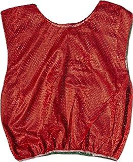 Sportime Dub-L-Scrim Pinnie - Adult - Green / Red