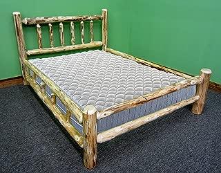 Best rustic log beds Reviews