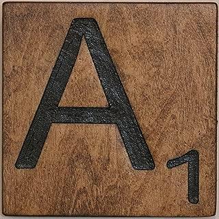 Large Scrabble Letter Tile (5 x 6 Medium, A)