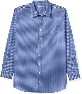 Men's Big & Tall Wrinkle-Resistant Long-Sleeve Pattern Dress Shirt fit by DXL