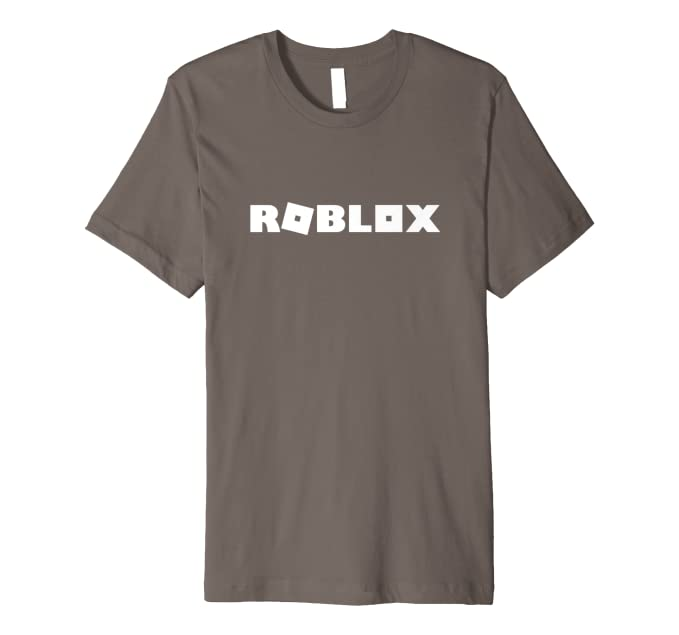 Amazon Com Roblox Logo T Shirt Clothing