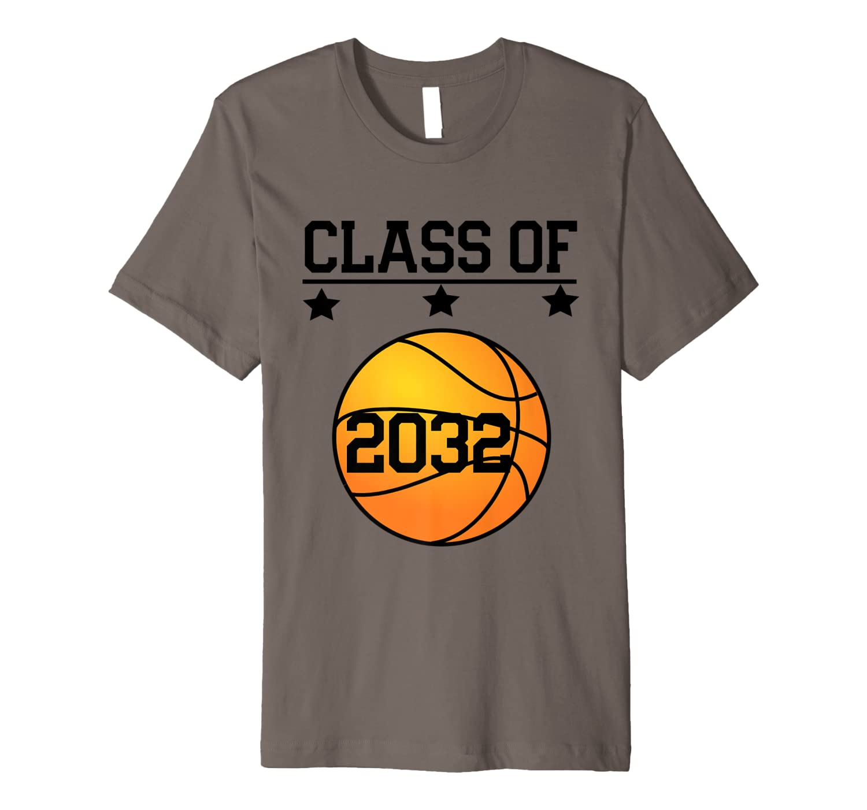 Kindergarten Class Of 2032 Grow With Me Sports Basketball Shirts