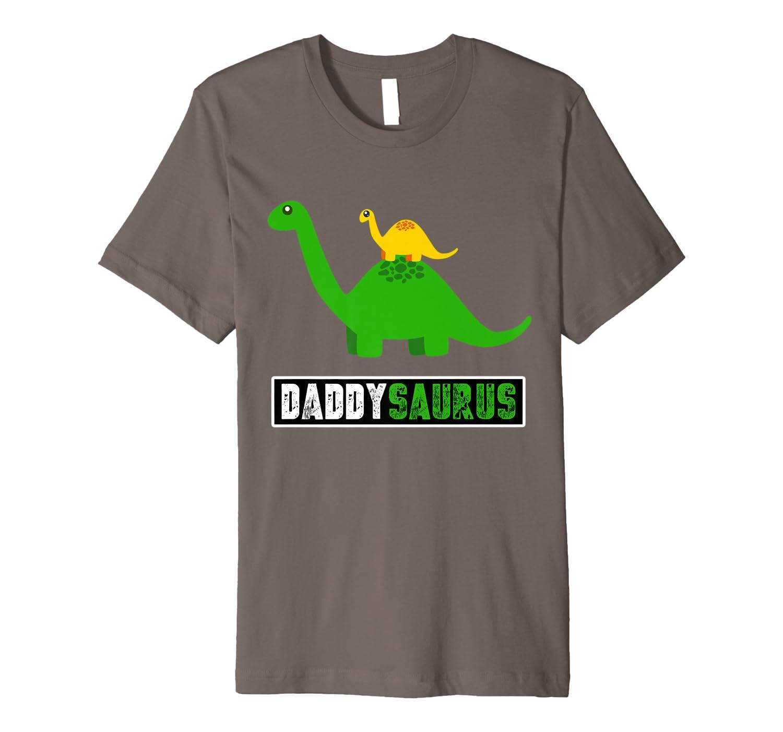 Daddysaurus T Shirt – Best Gift for Dad Premium T-Shirt-Yolotee