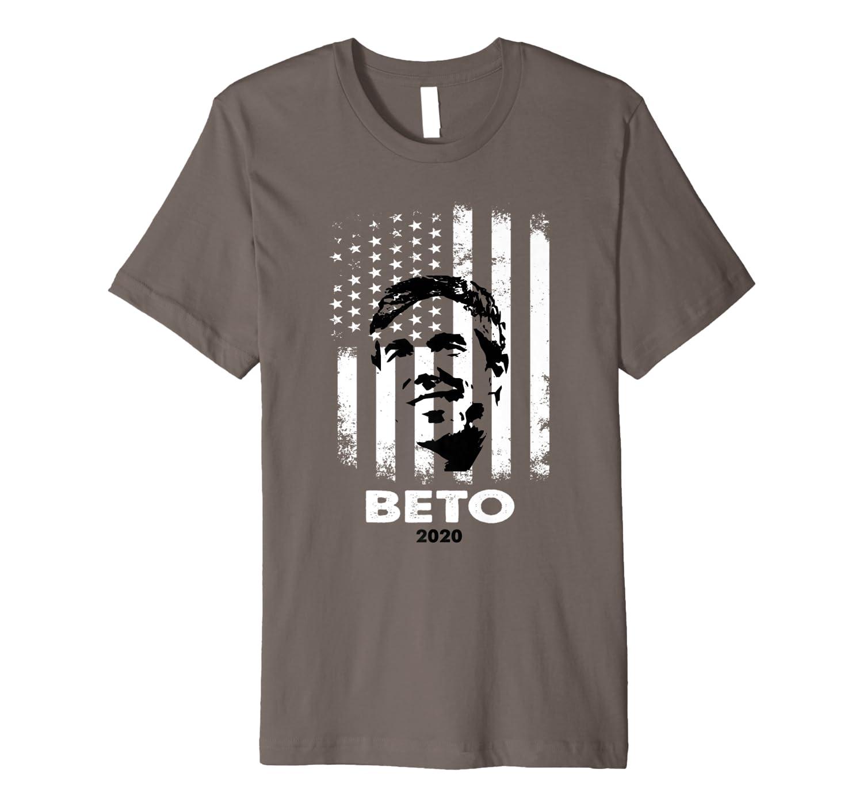 Beto O Rourke Usa Flag President Retro Vintage Orourke Gift Premium T Shirt