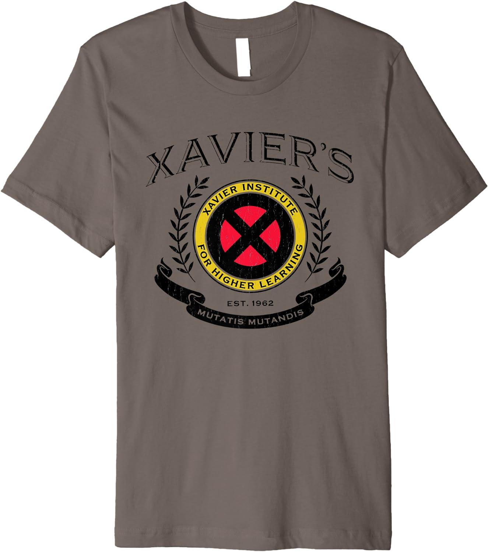 Marvel X-Men Xavier Institute Mens Black T-Shirt