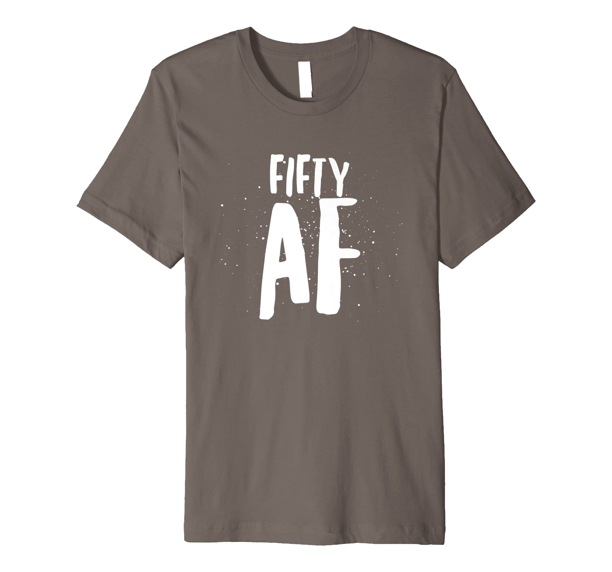 Amazon Fifty AF Shirt Funny 50th Birthday Tee T Gift Idea Clothing