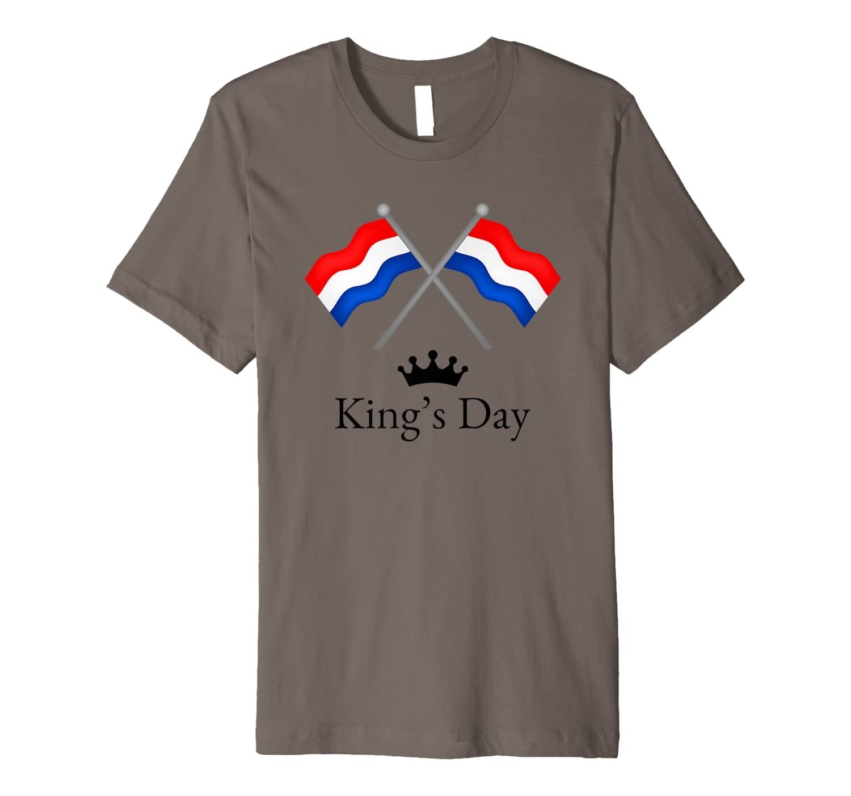 Happy King's Day Koningsdag Netherlands Dutch Holiday Lion Shirts