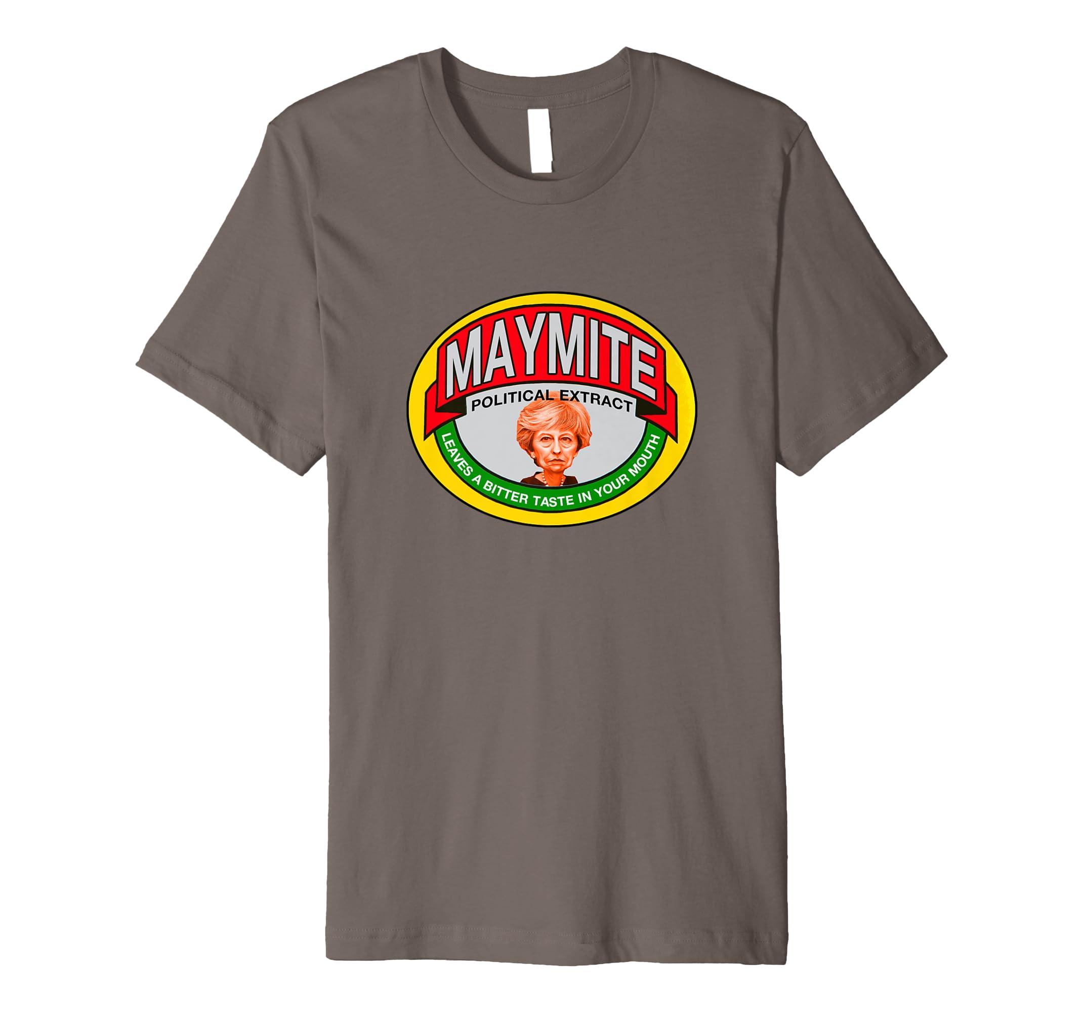 7a5dedbe MAYMITE THERESA BREXIT REMAINER EU UK MAY - T-shirt TEE: Amazon.co.uk:  Clothing
