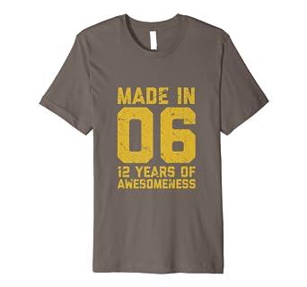 12 Geburtstag Hemd Geschenk 12 Jahriges Jungen Madchen Amazon De