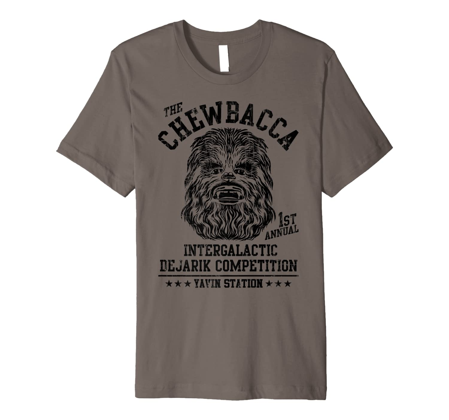 S Chewbacca Intergalactic Dejarik Competition Shirts