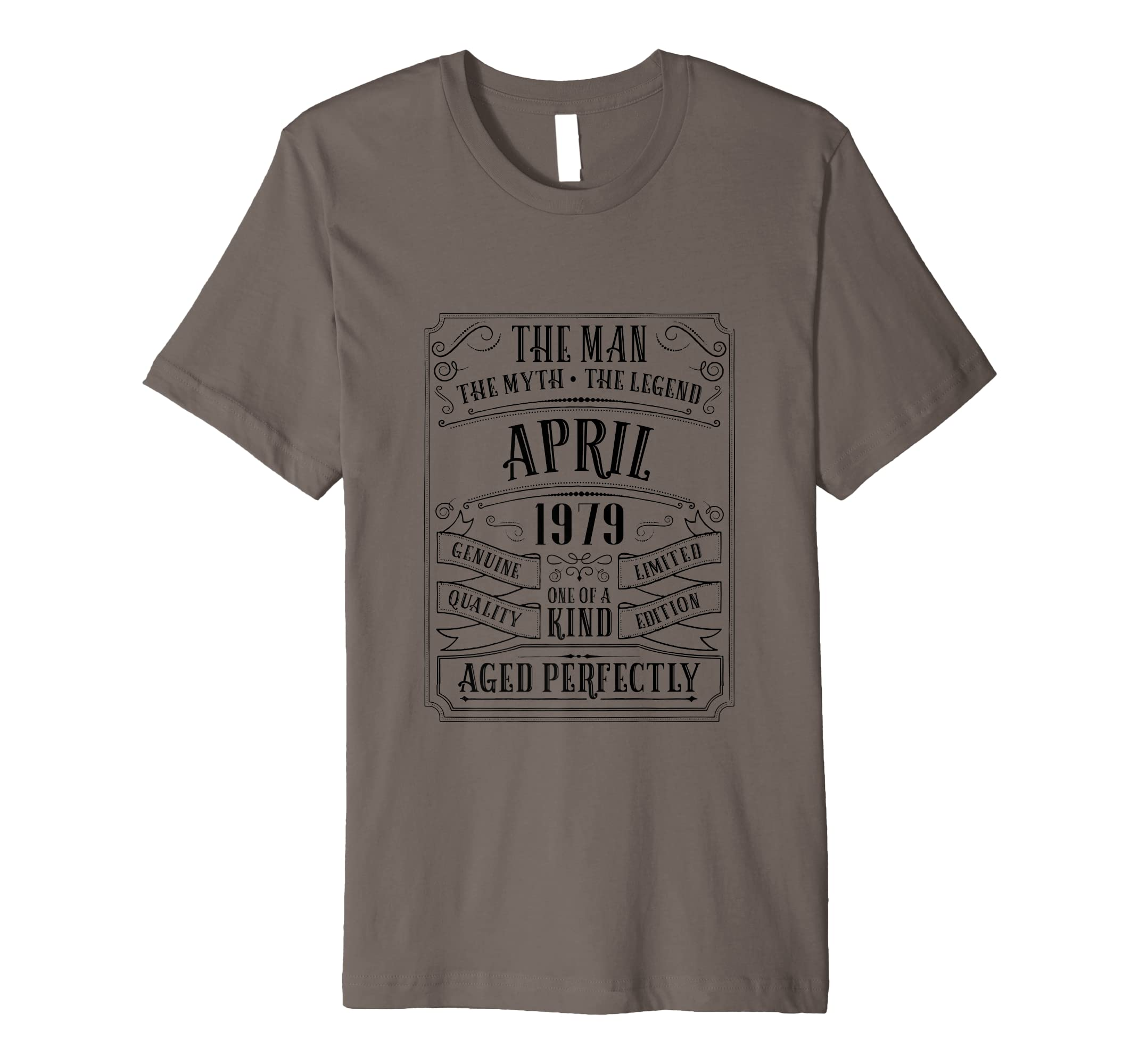 Amazon Mens 40th Birthday April Tshirt Men Gifts 40 Year Old Daddy Uncle Clothing