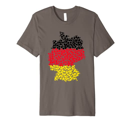 Germany Flag Map T-shirt German Patriotic Pride Tee on german flags of the world, germany map, state flags map, rhine river map, england map, german stereotypes, german world war 1 map, german state flags,