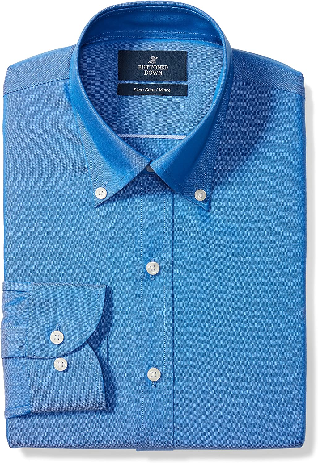 Buttoned Down Men's Slim Fit Button Superior Collar Solid Max 82% OFF Shirt Dress