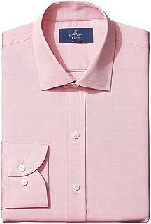 Amazon Brand - BUTTONED DOWN Men's Slim Fit Spread-Collar...