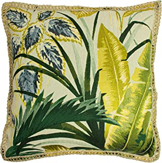 furn. Amazonia Cushion Cover, Green, 50 x 50cm