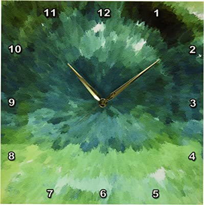 13 by 13-Inch 3dRose dpp/_13559/_2 Red Apple Wall Clock