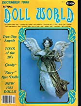 NATIONAL DOLL WORLD December 1985 (Magazine, The Magazine for Doll Lovers, Tree Top Angels, Fairy Nice Dolls, patterns)