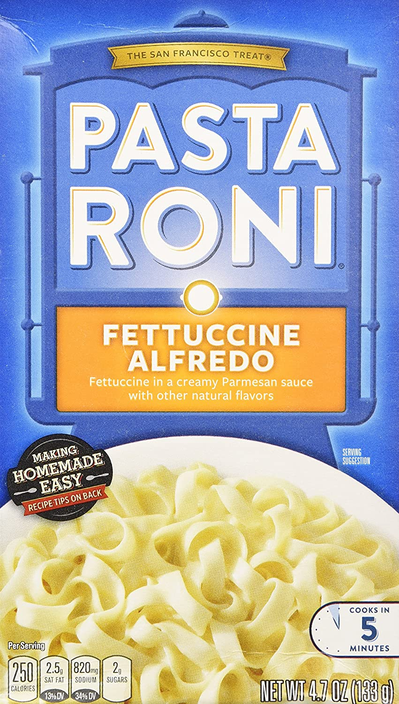Pasta Roni Fettuccine Alfredo 4.7oz 40% OFF Cheap Sale of Pack 6 San Francisco Mall Box