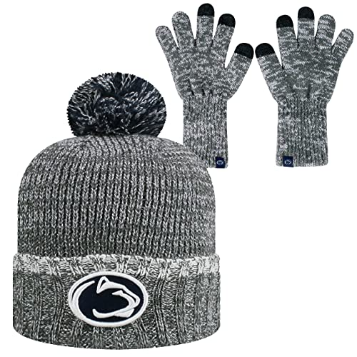 d61a45ed115 Top of the World Penn State Nittany Lions Official NCAA Combo Frostbite  Cuffed Stocking Stretch Knit