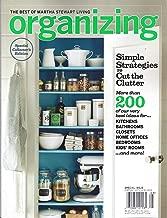 THE BEST OF MARTHA STEWART LIVING ORGANIZING MAGAZINE 2012 [Single Issue]