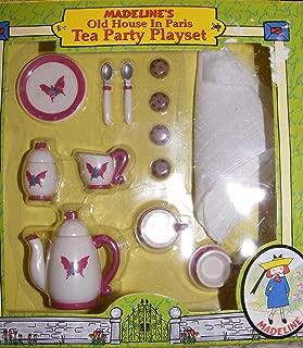Madeline Doll Tea Party Playset for Dollhouse #33816