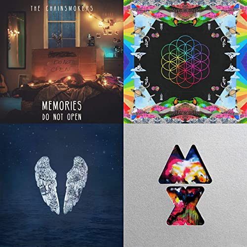 61c8229eb51 Coldplay: grandes éxitos de The Chainsmokers, Coldplay, Coldplay ...