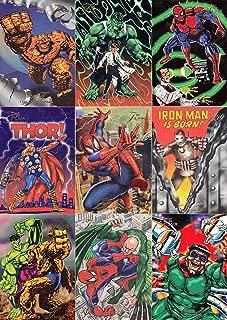 1994 fleer marvel universe cards