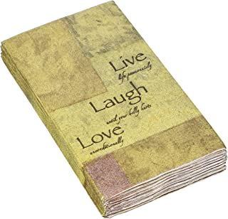 Avanti Live, Love and Laugh Guest Paper Towels, Multicolored 16 count