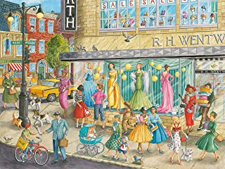 Ravensburger 16459 Sidewalk Fashion 1500 Piece Puzzle for Adults - Every Piece is Unique, Softclick Technology Means Piece...