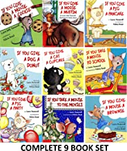 If You Give a Mouse a Cookie Series: 9 Book Set