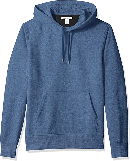 Amazon Essentials Men's Hooded Fleece Chest Stripe Sweatshirt
