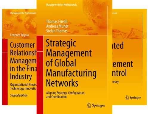 Management for Professionals (51-100) (50 Book Series)