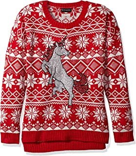 Blizzard Bay Women's Ugly Christmas Unicorn Sweater