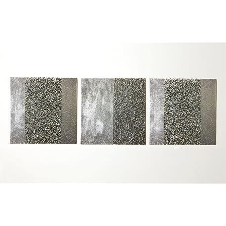Urban1 3 Xl Glitter Sequin Silver Love Heart Wall Glam Art Picture Canvas Set Amazon Co Uk Kitchen Home