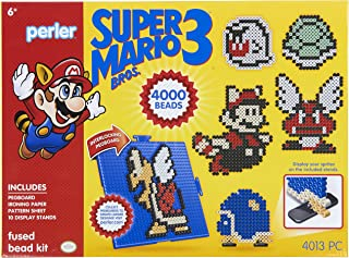 Perler Beads Super Mario Crafts Mega Activity Kit, 4013 pcs
