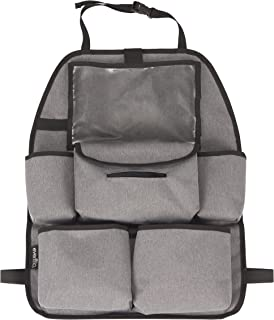 Evenflo Deluxe Car Backseat Organizer, Grey Melange