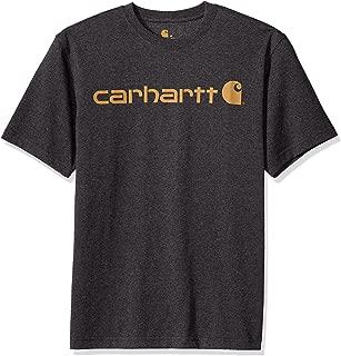 Men's Signature Logo Short-Sleeve Midweight Jersey T-Shirt K195