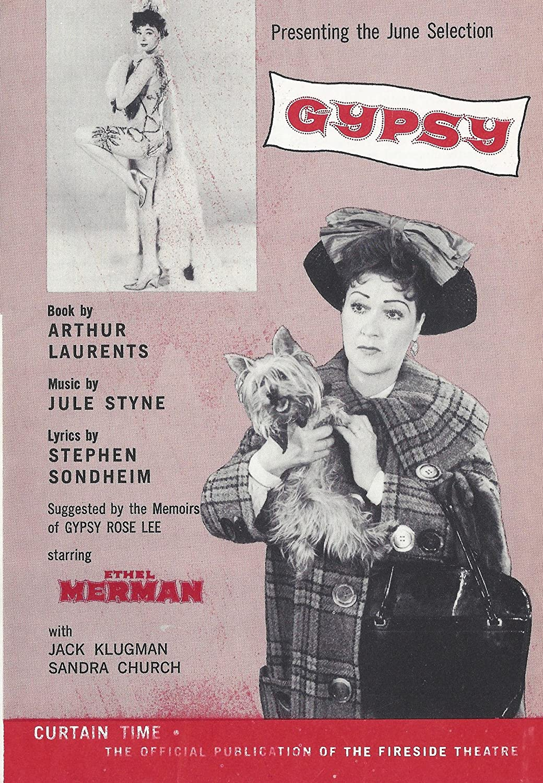 In a popularity Ethel Merman